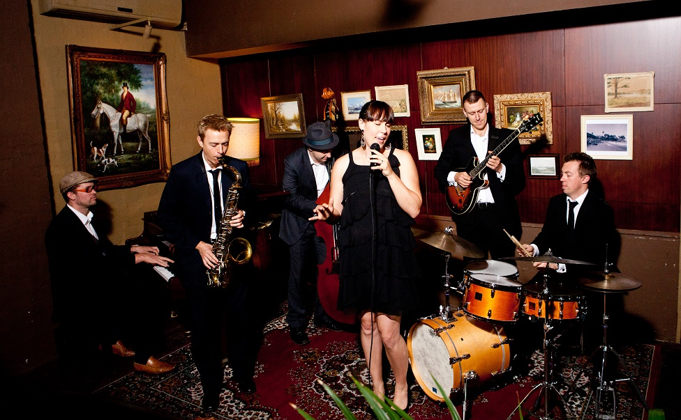 Vocalist Sextet Sydney Jazz Collective Band small