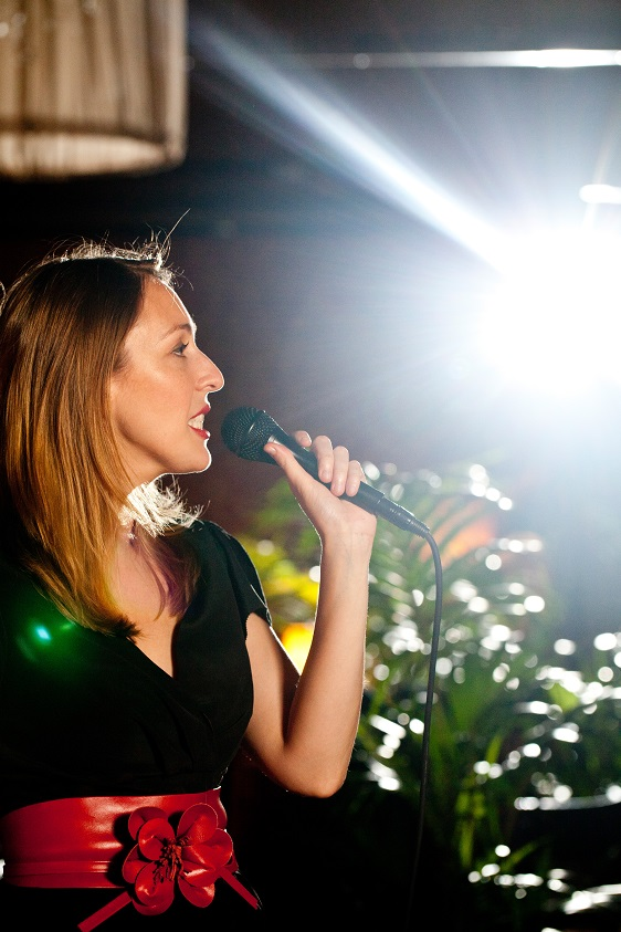 Backlit Vocals Lisa Csillag Sydney Jazz Collective Band small